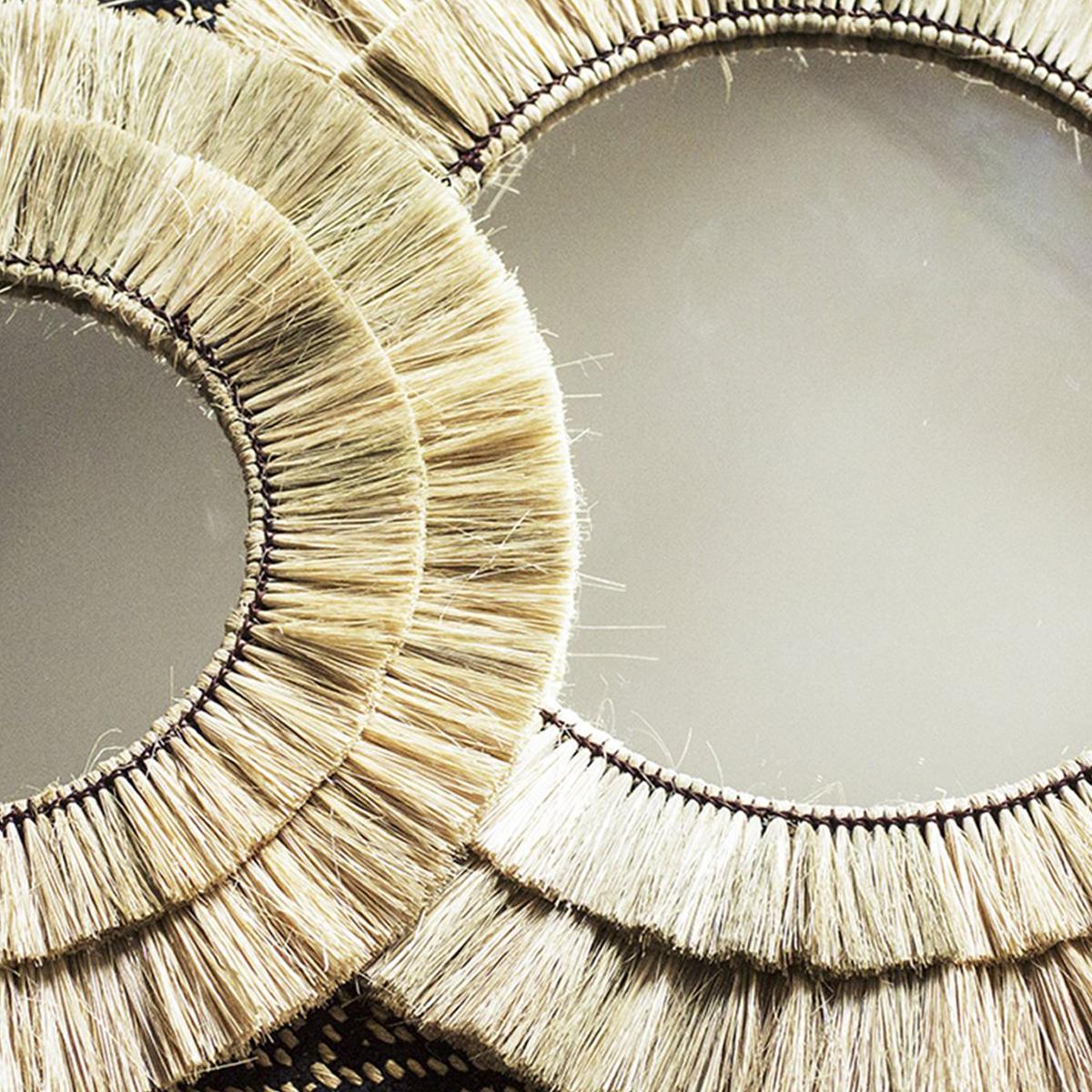 Caravan ellie-Sac bandouli/ère LOUDelephant Miroir en toile avec bandouli/ère et poche Motif /él/éphant