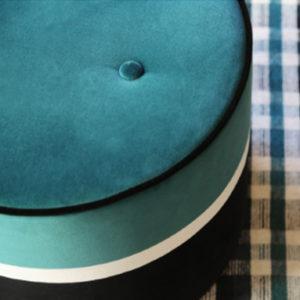 pouf bleu classic blue sarah lavoine marseille