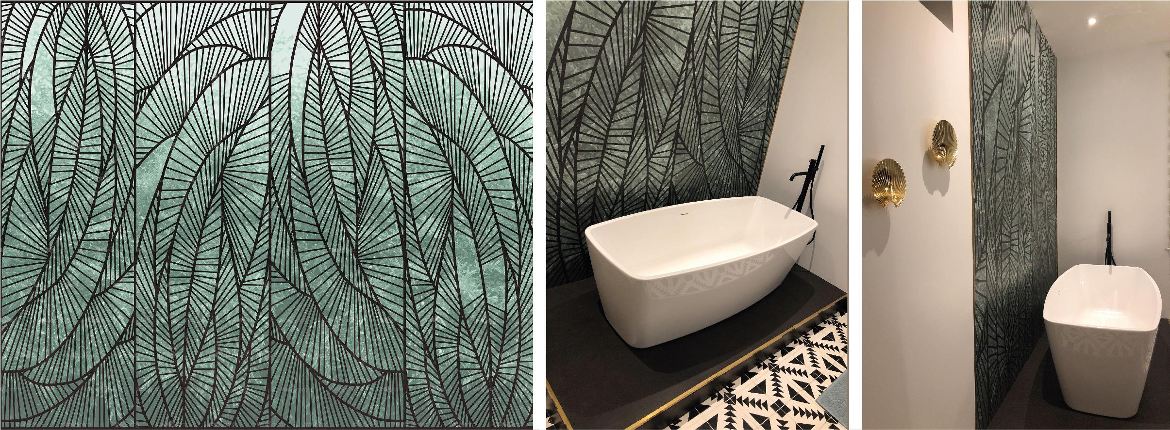 """Papier peint """"Wet System"""" par Wall & Déco"""