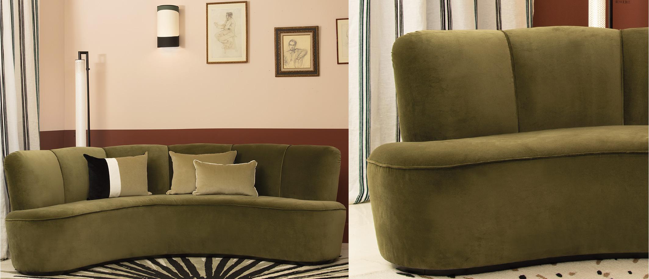 Canapé Sarah par Maison Sarah Lavoine